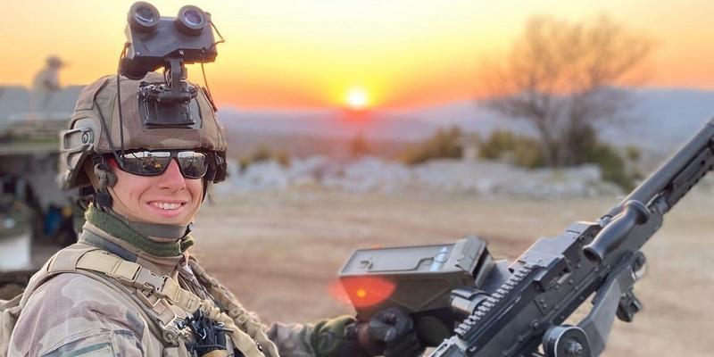 Gauthier, BTS ANABIOTEC, engagé dans l'armée